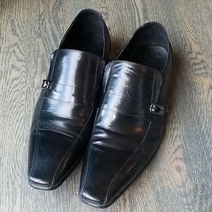 Aldo black dress loafers